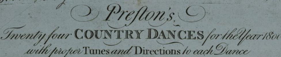 Preston's 1800 banner image