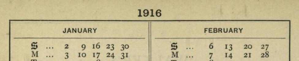 Cecil Sharp Diary 1916 banner image