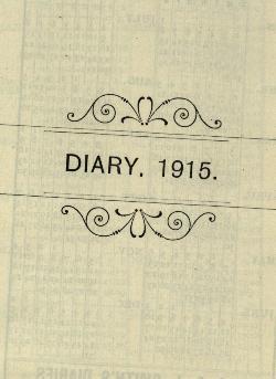 Sharp Diary 1915