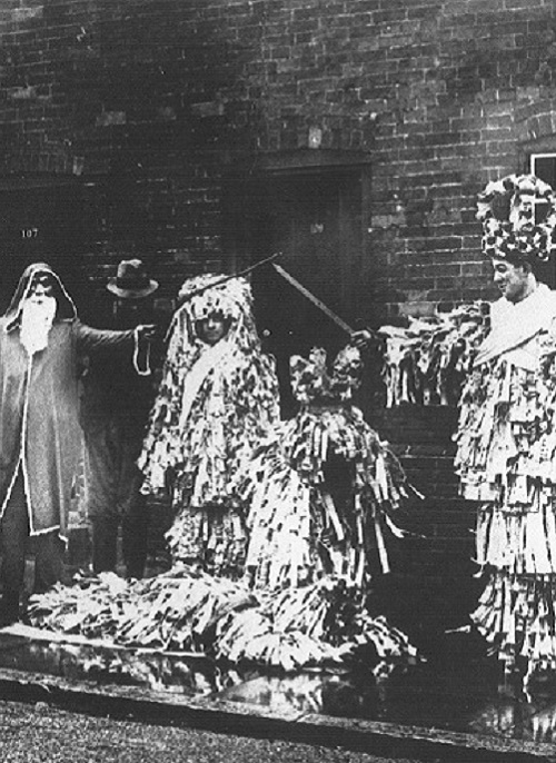 Mummers from Steve Roud's collection